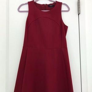 Madewell Red Wine Dress